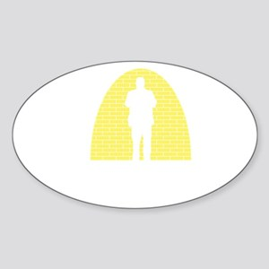 Standup-Comedian-12-B Sticker (Oval)
