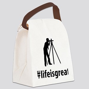 Land-Surveyor-06-A Canvas Lunch Bag