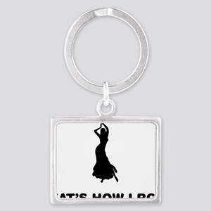 Belly-Dancer-12-A Landscape Keychain