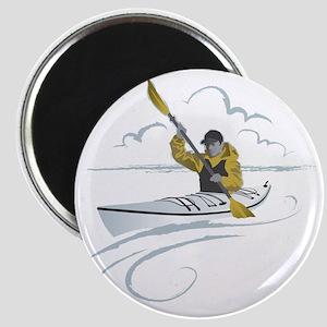 Kayak Guy Magnet