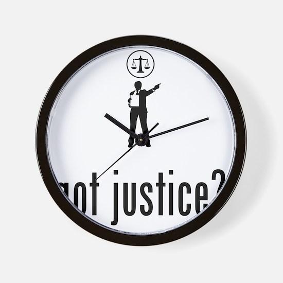 Lawyer-Attorney-02-A Wall Clock