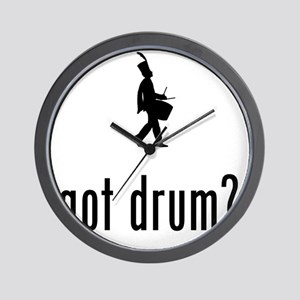 Marching-Band---Snare-Drum-02-A Wall Clock