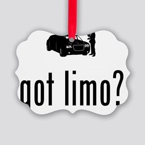 Limo-Driver-02-A Picture Ornament