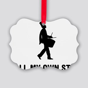 Marching-Band---Snare-Drum-03-A Picture Ornament