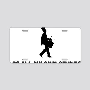 Marching-Band---Snare-Drum- Aluminum License Plate