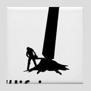 Logger-06-A Tile Coaster