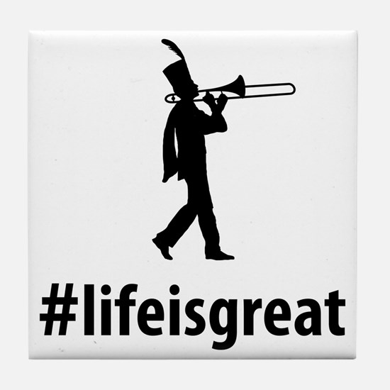 Marching-Band---Trombone-06-A Tile Coaster