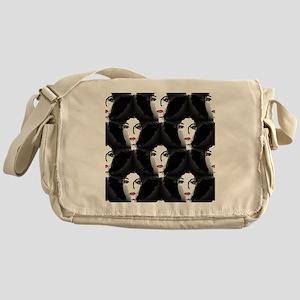 Riyah-Li Designs Afro Messenger Bag
