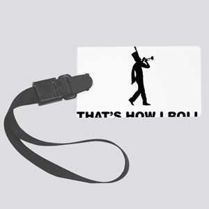 Marching-Band---Trumpet-12-A Large Luggage Tag