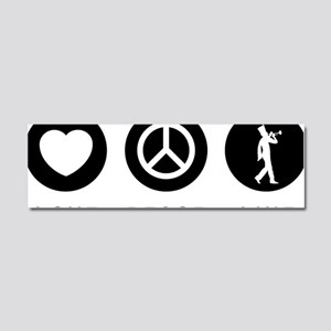Marching-Band---Trumpet-07-A Car Magnet 10 x 3