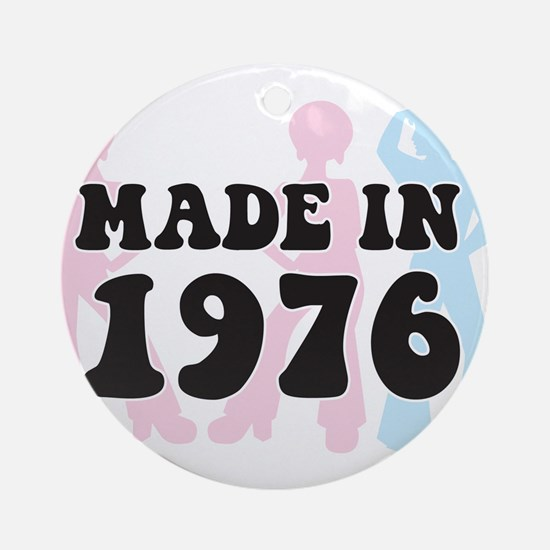 Made In 1976 Ornament (Round)