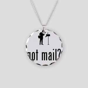 Mailman-02-A Necklace Circle Charm