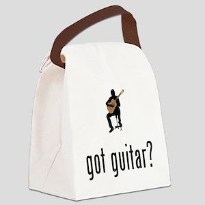 Classical-Guitar-02-A Canvas Lunch Bag