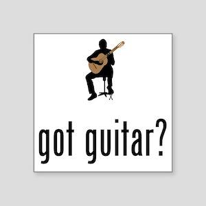 """Classical-Guitar-02-A Square Sticker 3"""" x 3"""""""