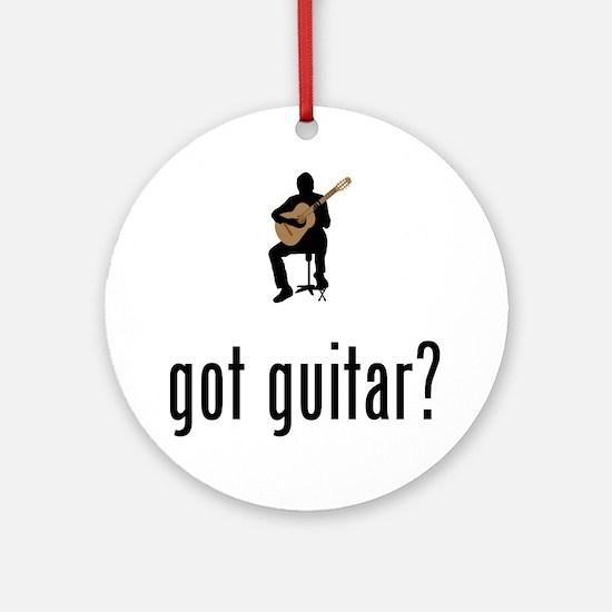 Classical-Guitar-02-A Round Ornament