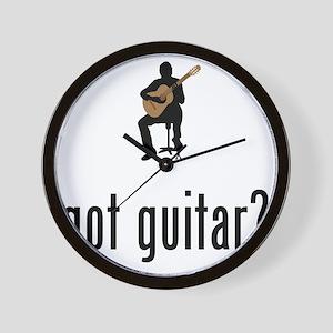 Classical-Guitar-02-A Wall Clock