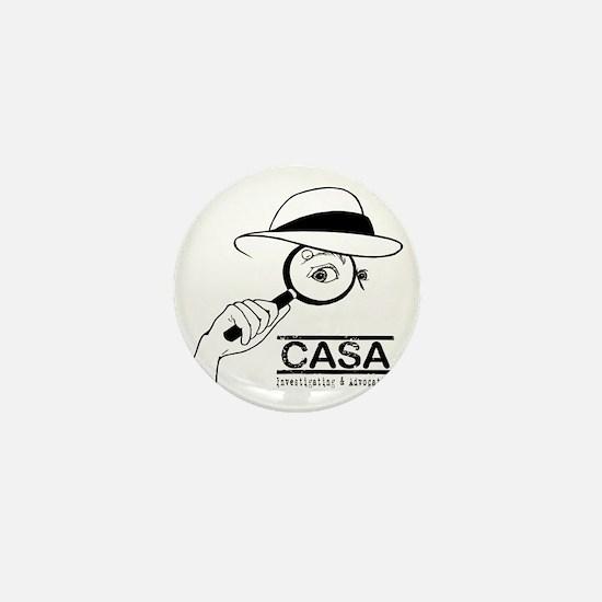 CASA Detective Mini Button
