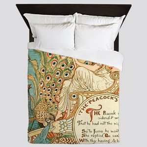 Aesops Peacock Queen Duvet