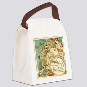 Aesops Peacock Canvas Lunch Bag