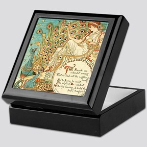 Aesops Peacock Keepsake Box