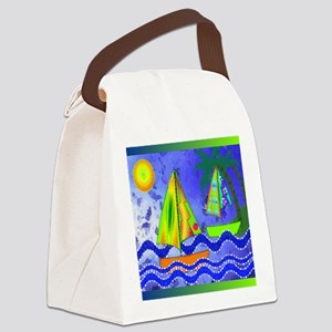 CP Sailboat 1 Canvas Lunch Bag