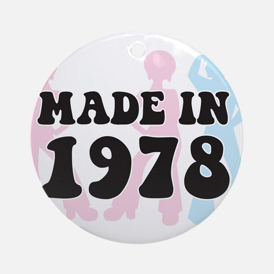 Made In 1978 Ornament (Round)
