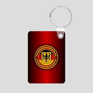 Germany Aluminum Photo Keychain