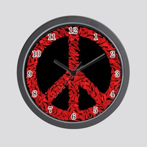 Shattered Peace Wall Clock