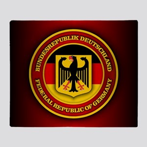 German Emblem Throw Blanket