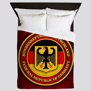 German Emblem Queen Duvet