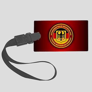 German Emblem Large Luggage Tag