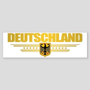 Deutschland (front) Sticker (Bumper)