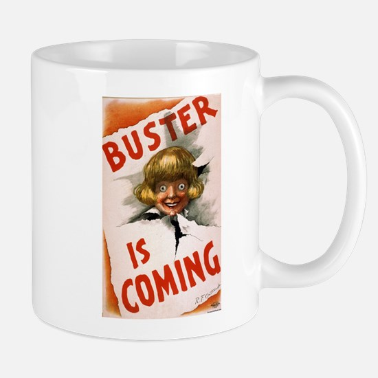 Buster is coming - US Lithograph - 1907 Mugs