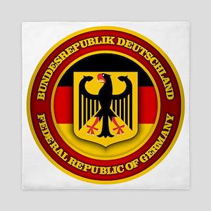 German Emblem Queen Duvet