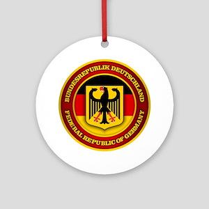 German Emblem Round Ornament