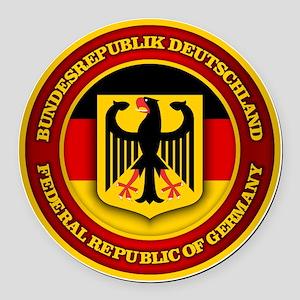 German Emblem Round Car Magnet