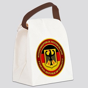 German Emblem Canvas Lunch Bag