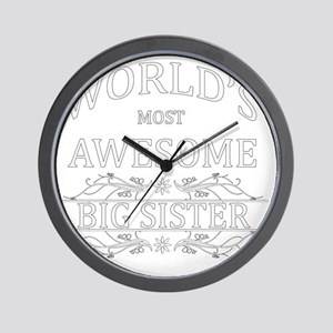 big sister Wall Clock