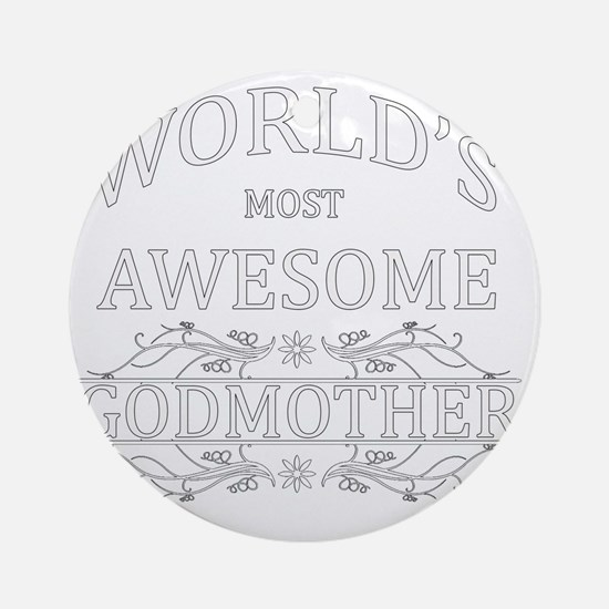 godmother Round Ornament