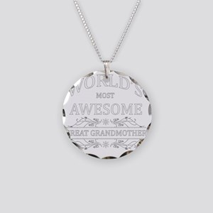 great grandmother Necklace Circle Charm