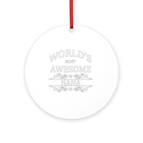 nana Round Ornament
