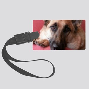 German Shepherd Large Luggage Tag