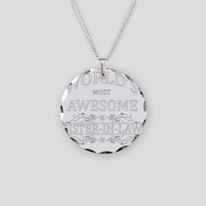 sister in law Necklace Circle Charm
