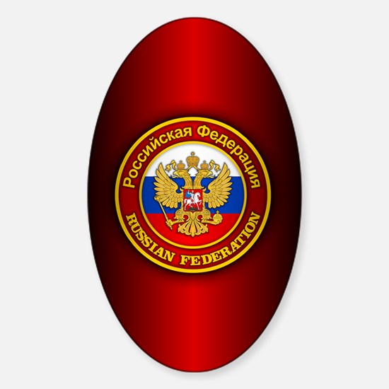 Russia COA (iphone snap) Sticker (Oval)