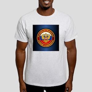 Russia COA (keepsake) blue Light T-Shirt