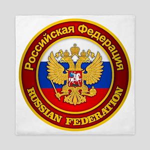 Russia COA Queen Duvet
