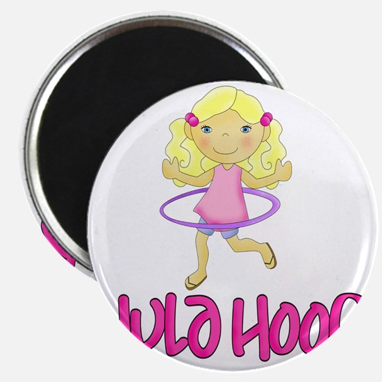 Hula Hoop Girl -Pink- Magnet