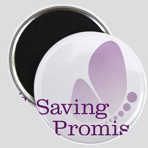 Saving Promise Butterfly on White Magnet