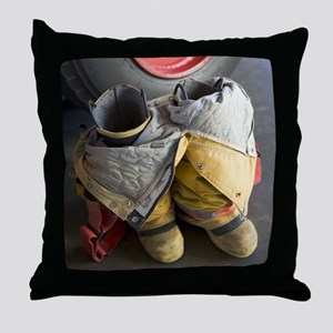 TURNOUT GEAR Throw Pillow