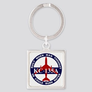 KC-135A - Built When Man Thought H Square Keychain